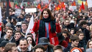 Etudiants et lycéens sont descendus dans la rue le 9 mars contre la loi El Khomri.
