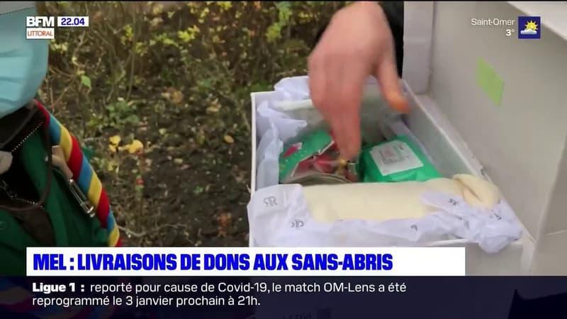 """A Lille, le mouvement """"Pour eux"""" livre des repas concoctés par des particuliers aux sans-abri"""