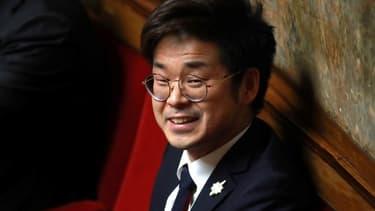 Joachim Son-Forget à l'Assemblée Nationale