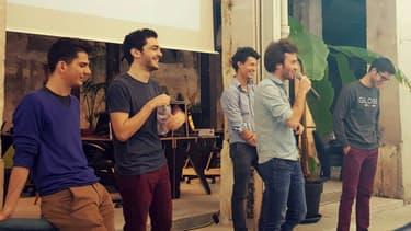 Les cinq fondateurs de Mangrove