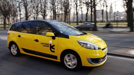 Les compagnies de VTC, telles que Voitures jaunes, ont gagné une manche contre les taxis.