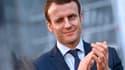 Emmanuel Macron était à une conférence sur l'avenir de l'Europe.