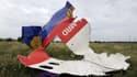 Débris du vol MH17, de Malaysia Airlines.