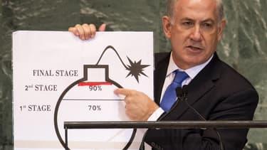 Benyamin Netanyahou à l'Assemblée générale de l'ONU
