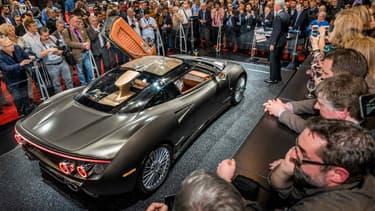 Le Salon automobile de Genève se tient du 1er au 13 mars.