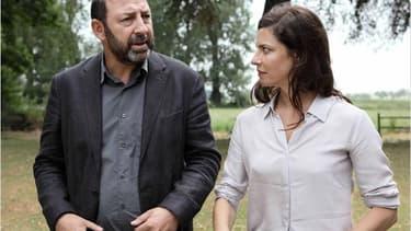 Kad Merad et Anna Mouglalis dans la deuxième saison de Baron noir.
