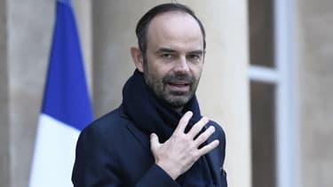 Le Premier ministre, Édouard Philippe, le 12 janvier 2018