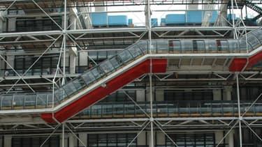 En 2012, le Centre Pompidou va battre des records de fréquentation.
