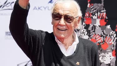 Stan Lee à Hollywood, le 18 juillet 2017.