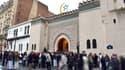 L'entrée de la Grande mosquée de Paris.