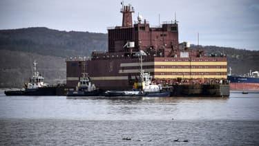 Le port de Mourmansk, en Russie - Image d'illustration