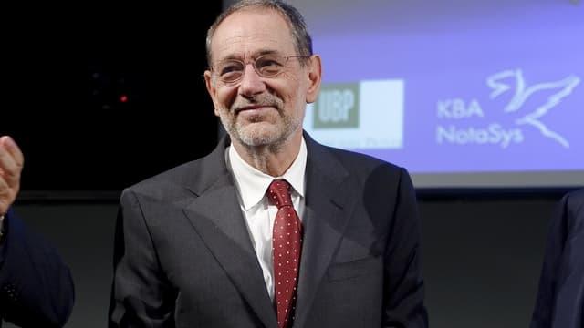 Javier Solana, en octobre 2011.