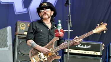 Lemmy Kilmister au Hellfest festival à Clisson, en France, le 19 juin 2015