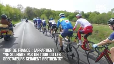"""Lappartient """"ne souhaite pas un Tour de France où les spectateurs seraient restreints"""""""