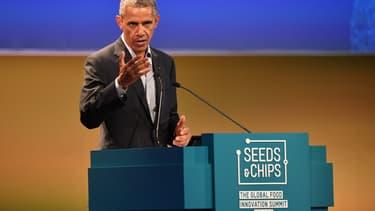 Barack Obama lors d'une conférence en Italie, en mai dernier.