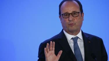 François Hollande lors de la rentrée des classes à Orléans le 1er septembre 2016