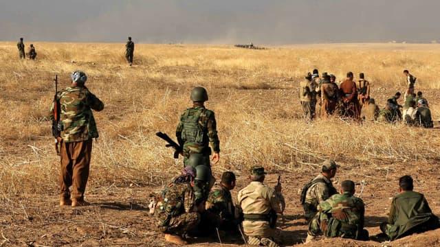 La bataille de Mossoul en Irak a fait plus de 200.000 déplacés. (Photo d'illustration)