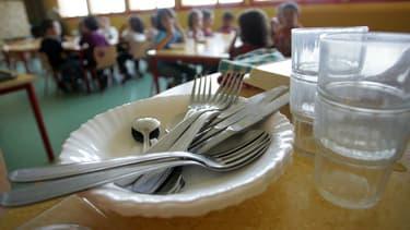 Une cantine scolaire (Photo d'illustration)