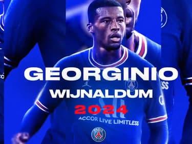Wijnaldum au PSG, c'est officiel