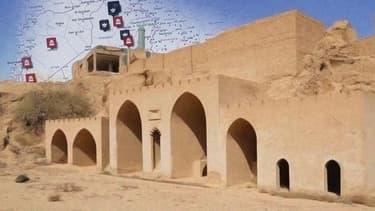 Quels sont les sites auxquels l'EI s'est attaqué en Irak et en Syrie?