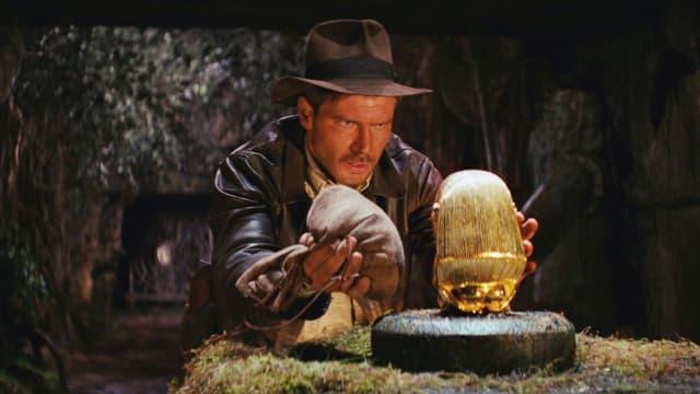 """Harrison Ford dans """"Les Aventuriers de l'Arche perdue"""""""