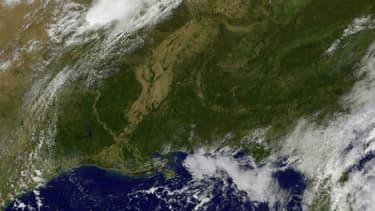 La tempête tropicale Nicole s'est transformé en ouragan jeudi en milieu de journée.