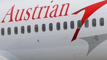 Un avion d'Austrian Airlines (photo d'illustration).