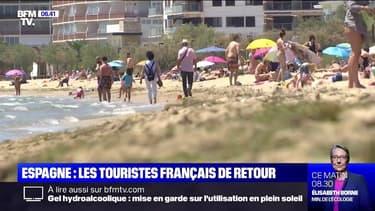 Les touristes français sont de retour en Espagne