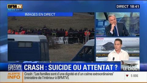 """Édition spéciale """"Crash de l'A320"""" (2/3): s'agit-il d'un suicide ou d'un attentat ?"""