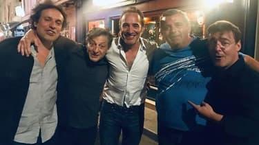 Jean Dujardin et Bruno Salomone retrouvent la bande de Nous Ç Nous
