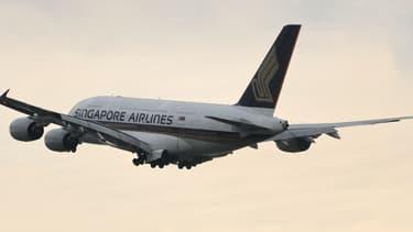 Un A380 de la compagnie Singapore Airlines, en 2010. (photo d'illustration)
