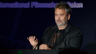 Luc Besson au Festival International du Film de Pékin en 2013