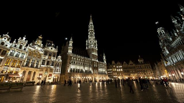 La Grand-Place de Bruxelles sera éteinte ce jeudi soir, en soutien à la population d'Alep. (Photo d'illustration)