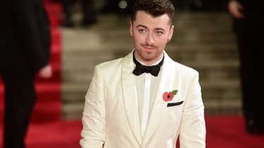 Sam Smith, le 26 octobre 2015