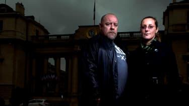 Tin-tin et Grenouille, leaders du Syndicat national des artistes tatoueurs, ont été reçus mercredi à l'Assemblée nationale.