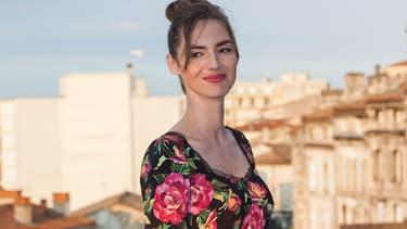 Louise Bourgoin au festival d'Angoulême le 23 août 2017
