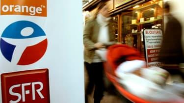Bouygues et SFR ont porté plainte contre Orange devant le gendarme de la concurrence