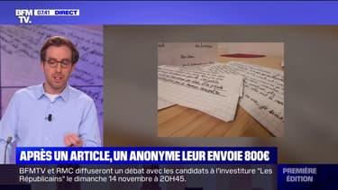 Après un article paru dans Libération, un anonyme leur envoie 800 euros