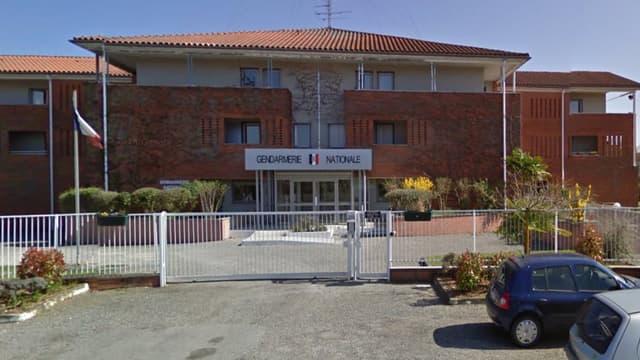La gendarmerie de Saint-Lys, où a été auditionné l'enfant.
