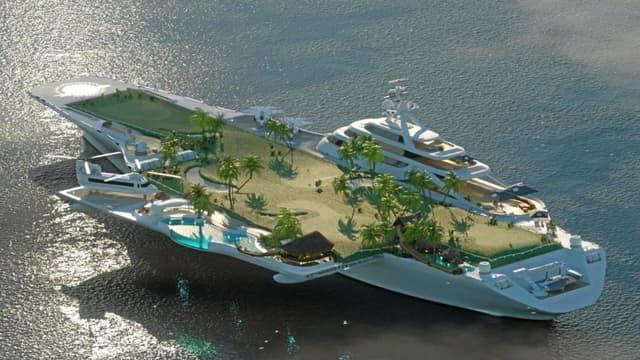 Et si l'ancien porte-avions Foch devenait un complexe hôtelier de luxe?