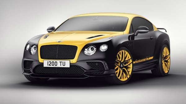 La version jaune et noire de la 24 Continental.