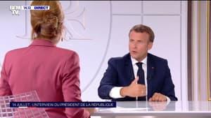 """Emmanuel Macron: """"On ne résout pas une crise comme celle-ci en augmentant les impôts"""""""