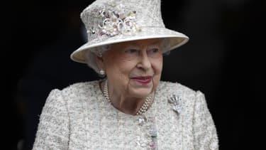 La reine Elizabeth en mai 2017