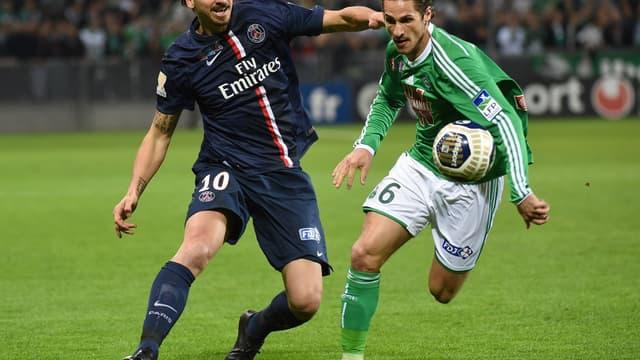 Zlatan Ibrahimovic et Jérémy Clément