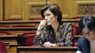 Chantal Jouanno au Sénat en janvier 2012.