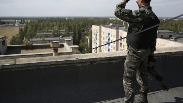 La trêve, conclue vendredi dernier entre l'armée ukrainienne et les séparatistes pro-russes, a été violée à plusieurs reprises depuis son instauration.