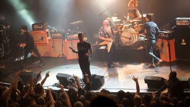 Eagles of Death Metal au Bataclan le vendredi 13 novembre 2015.