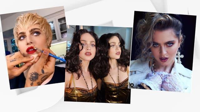 L'actrice Anne Winters dans la peau de Madonna