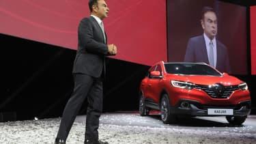 """Le Kadjar de Renault est présenté comme """"le grand frère du Captur"""""""