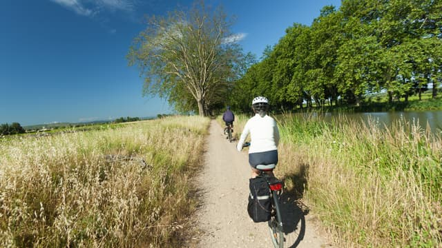 Les vacances à vélo.